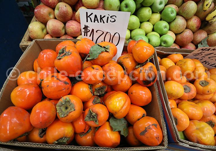 Kakis, Fruits du Chili