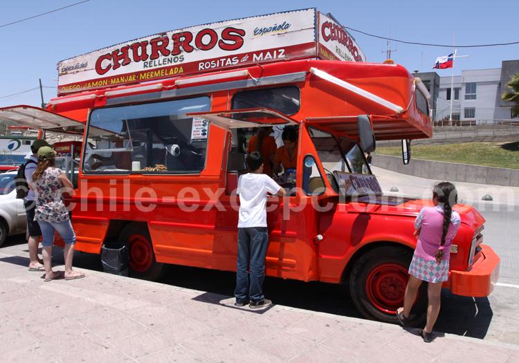 Churros, food truck au Chili