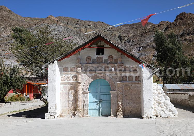 Église de San Santiago, Belén, région d'Arica et Parinacota