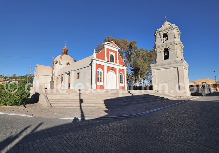Église Saint-André de Pica, Tarapacá
