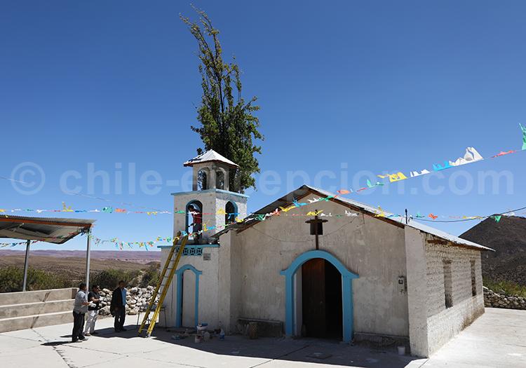 Chapelle de Saxamar, commune de Putre