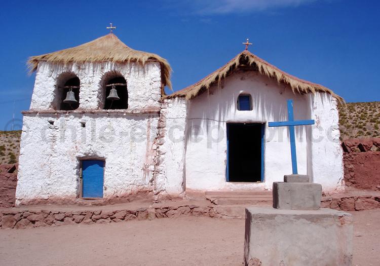 Église de Machuca, région d'Atacama