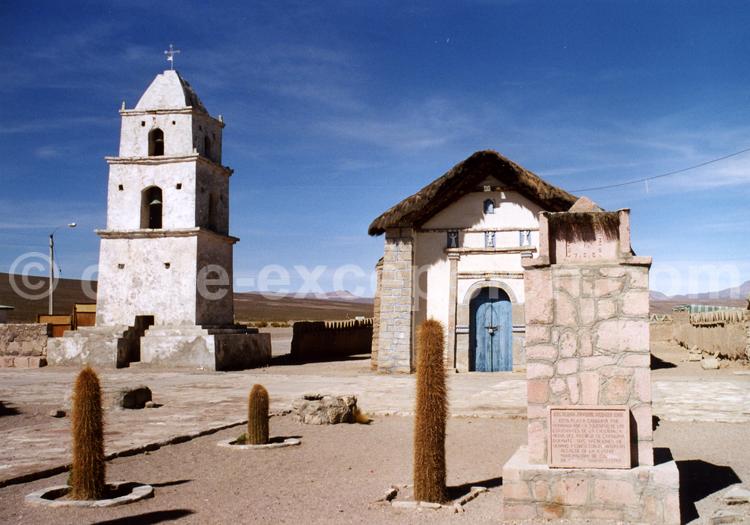 Chapelle de Cariquima, région de Tarapacá