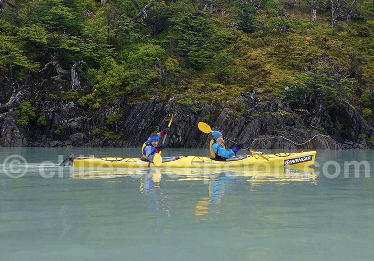 Kayak, Torres del Paine