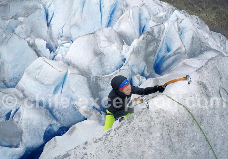 Trekking sur la glace