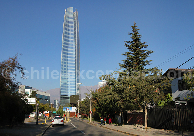 Tour Sky Costanera, Santiago de Chile