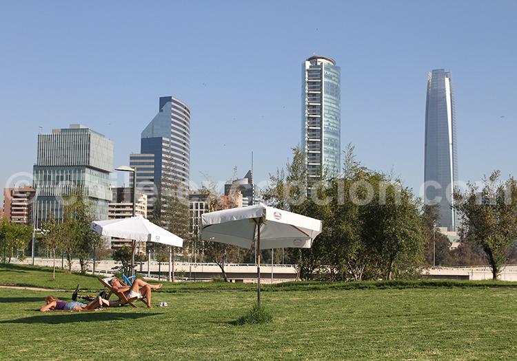 Parque Bicentenario, Santiago de Chile