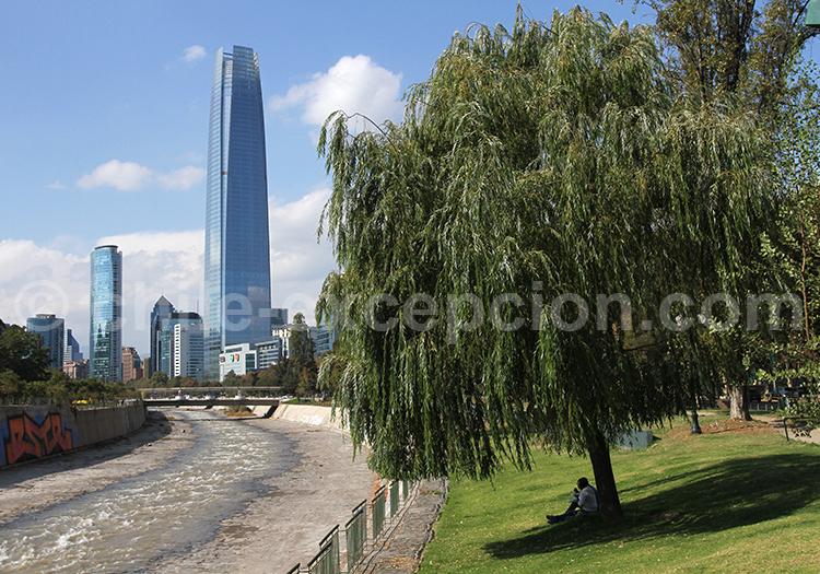 Les plus jolis parcs de Santiago de Chile