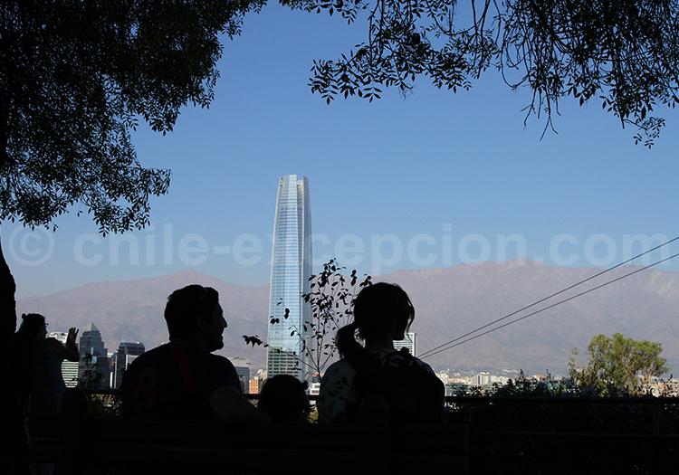 Se balader dans le Parque Metropolitano, Santiago de Chile