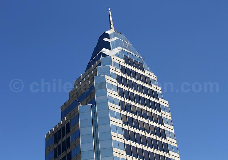 Architecture urbain, capitale du Chili