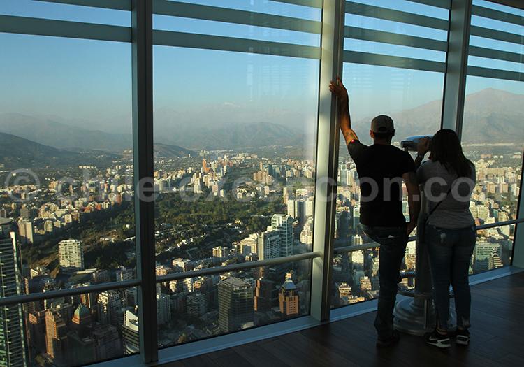 Activité à faire sur Santiago : la Tour Sky Costanera