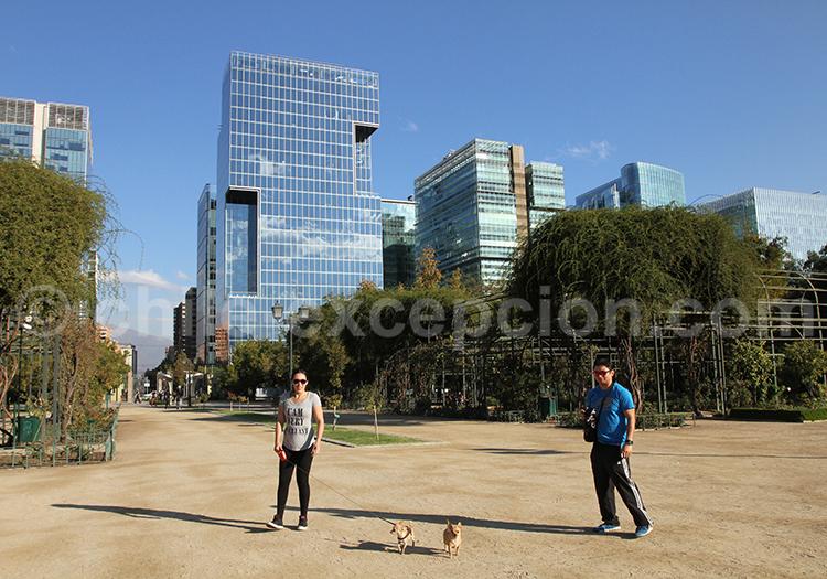 Parque Araucano, manquehue, presidente riesco, Santiago de Chile