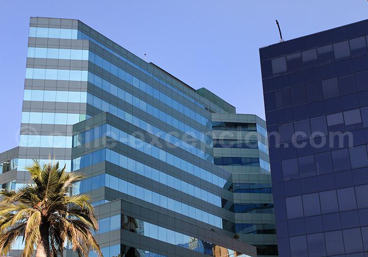 Quartier de Las Condes, capitale du Chili