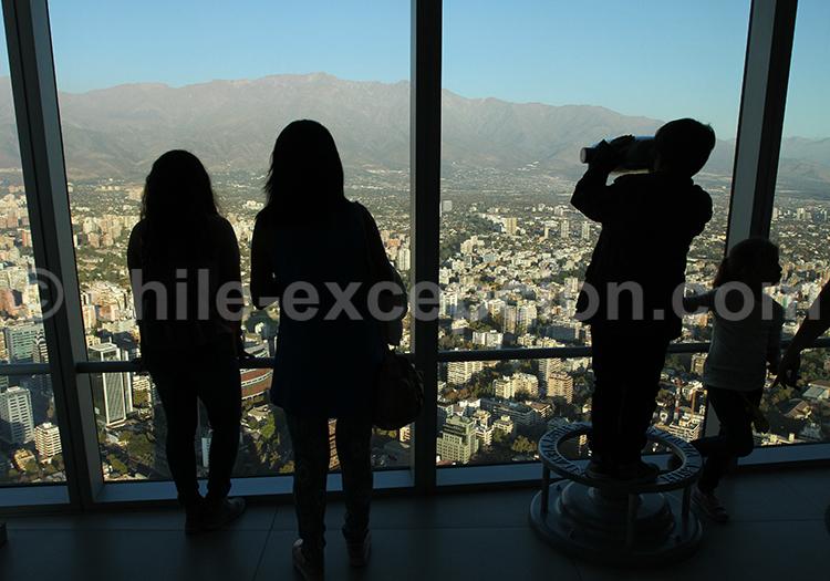 Tour Sky Costanera, que faire à Santiago du Chili