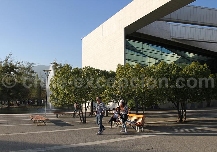 Free tour, Parque Bicentenario, Santiago de Chile