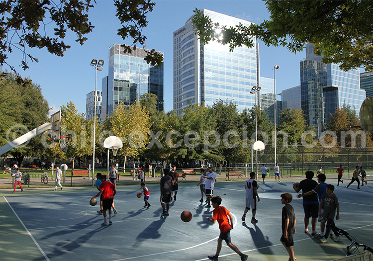 Weekend en famille, Parque Araucano, Santiago de Chile