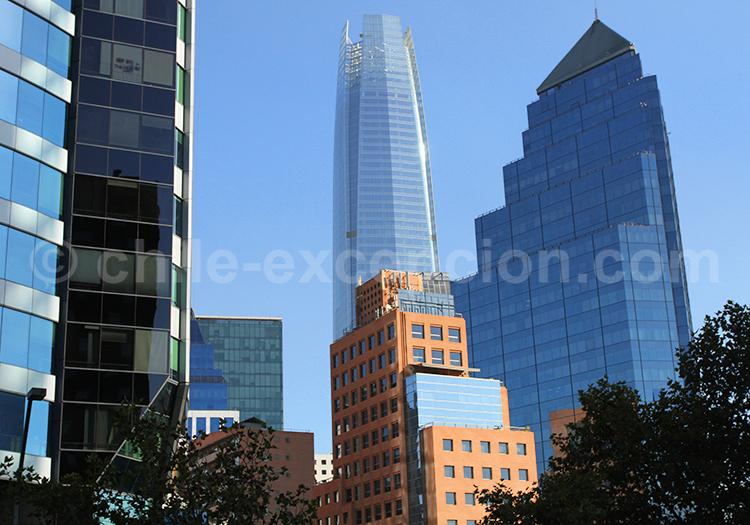 Costanera Center, centre commercial à Santiago du Chili