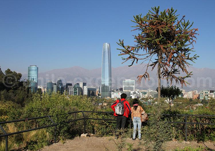 Visite du Parque Metropolitano, Santiago de Chile