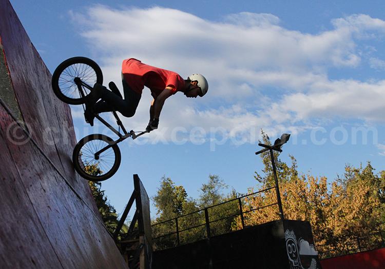 Bike parc, Parque Araucano, Santiago de Chile