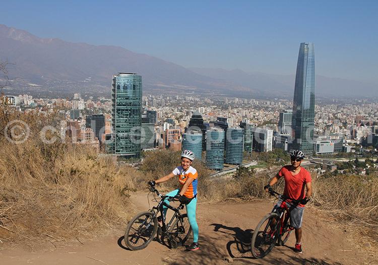 Parque Metropolitano en VTT, Santiago de Chile