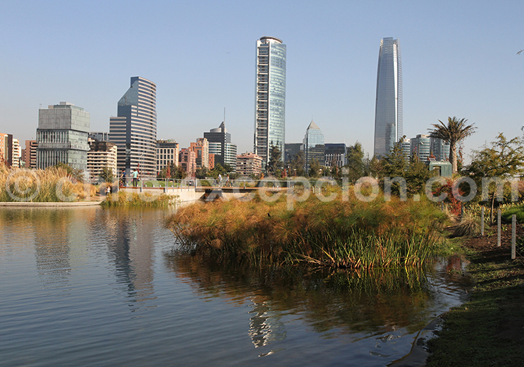 Parque Bicentenario, Vitacura, Santiago de Chile