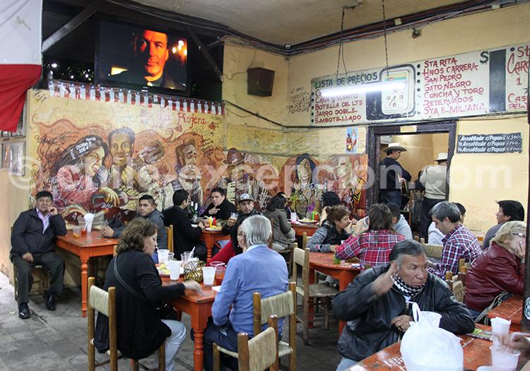Restaurant, Santiago de Chile