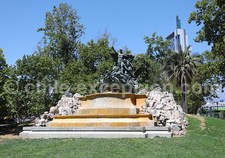 Parque Forestal, centre de Santiago de Chile