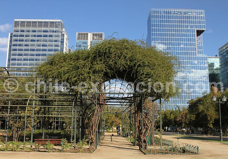 Lieu de rendez-vous, parque Araucano, Santiago de Chile