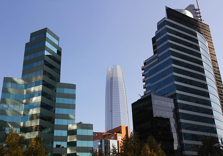 Grattes ciel de Santiago