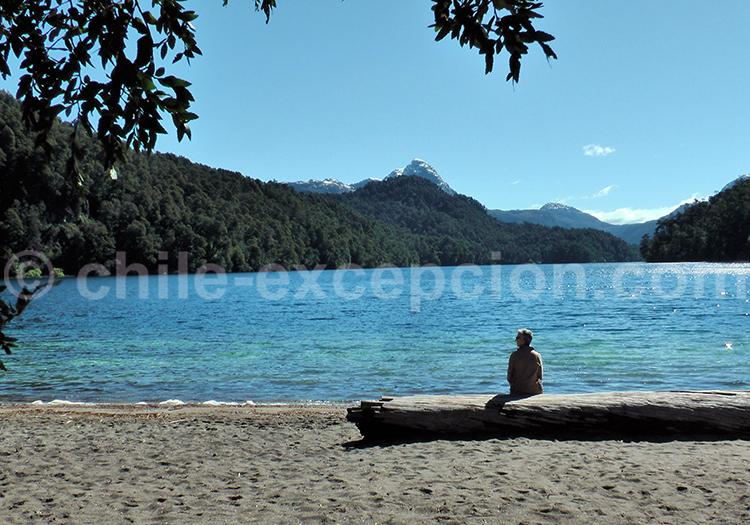 Lac Hermoso, route des 7 lacs