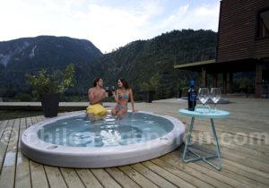 Hotel Raudal Futaleufu, Patagonie, Chili