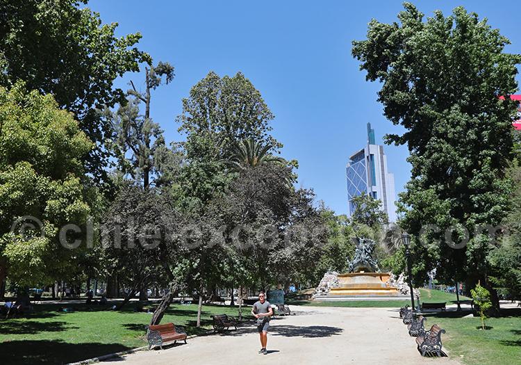Les meilleurs parcs de Santiago de Chile
