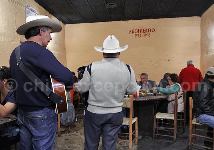 Musiciens, Santiago de Chile