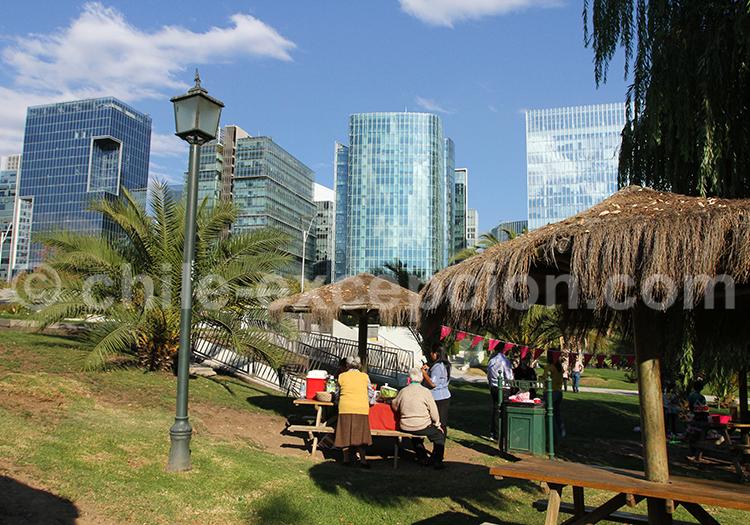 Où manger à Las Condes : Parque Araucano