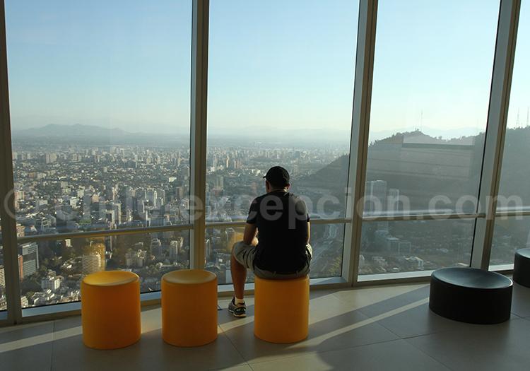 Tour Sky Costanera, activité à faire à Santiago de Chile