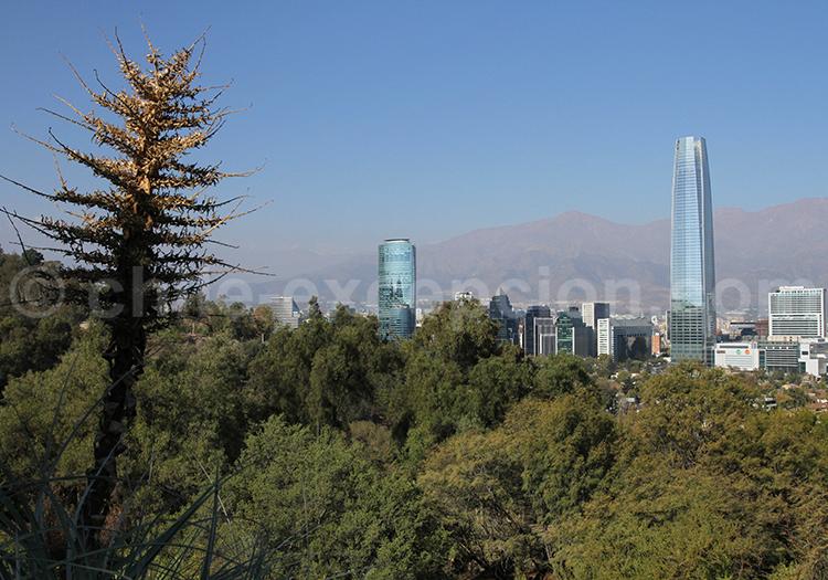 Parc Métropolitain, visite de Santiago de Chile