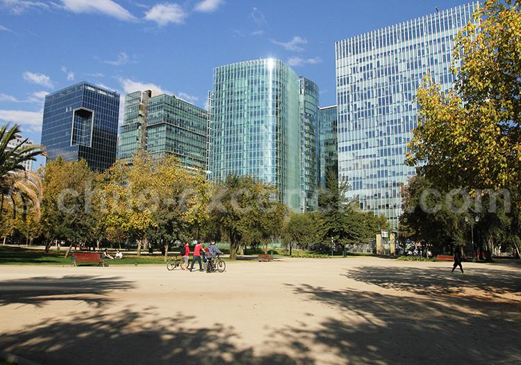Visiter le Parque Araucano, Santiago de Chile
