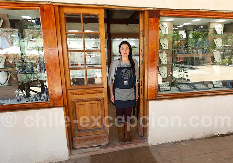 Boutique de Lapis lazuli, Pueblito Los Dominicos