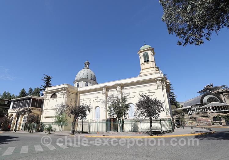 Paroisse Santos Angeles Custodios, Santiago avec l'agence de voyage Chile Excepción