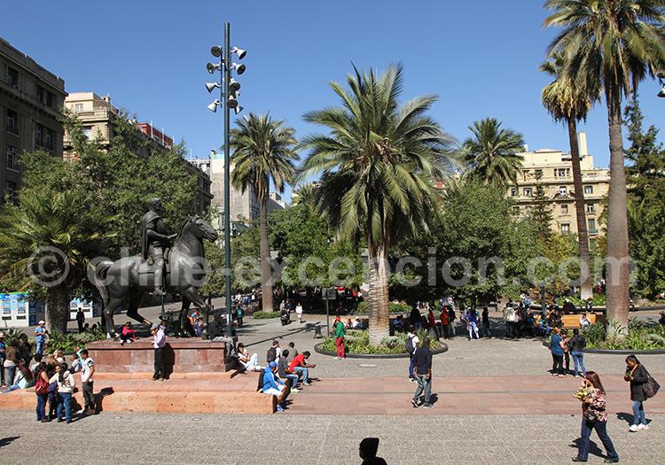 Centre historique et civique, Santiago de Chile