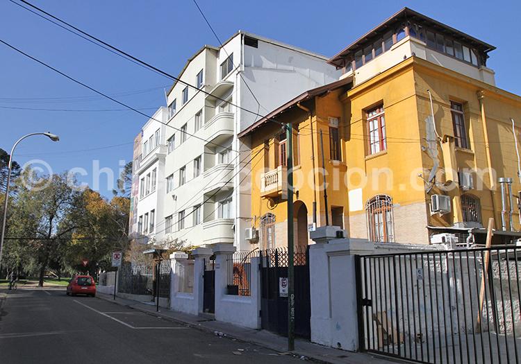 Barrio Providencia, Santiago de Chile