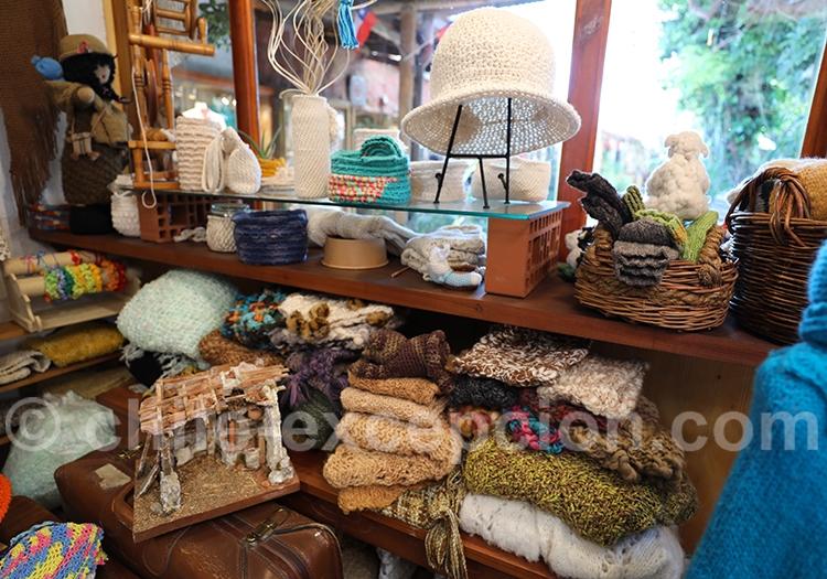 Artisans de la laine au Chili