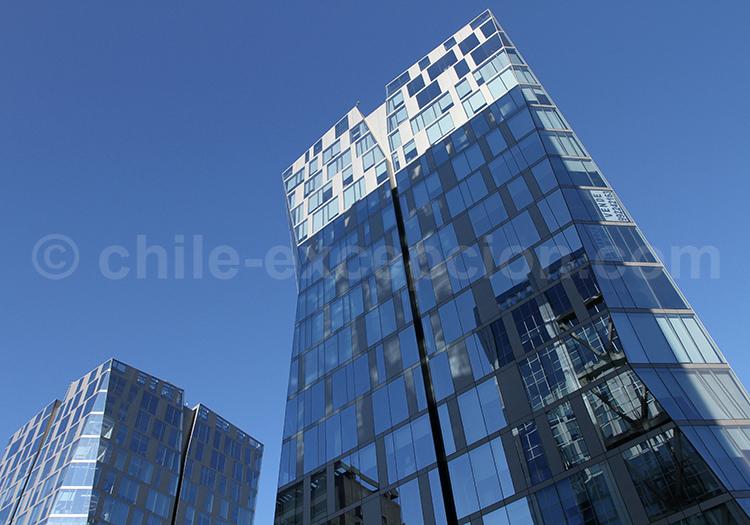 Las Condes, nord-est de Santiago de Chile