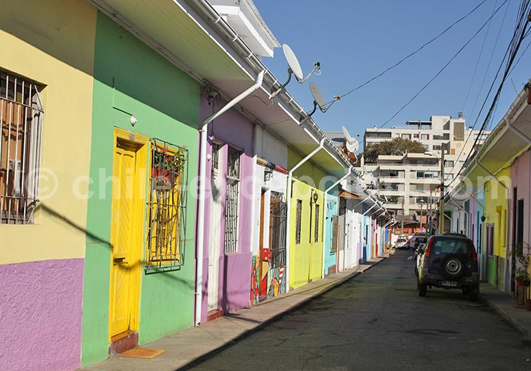 Quartier Bellavista, Santiago de Chile