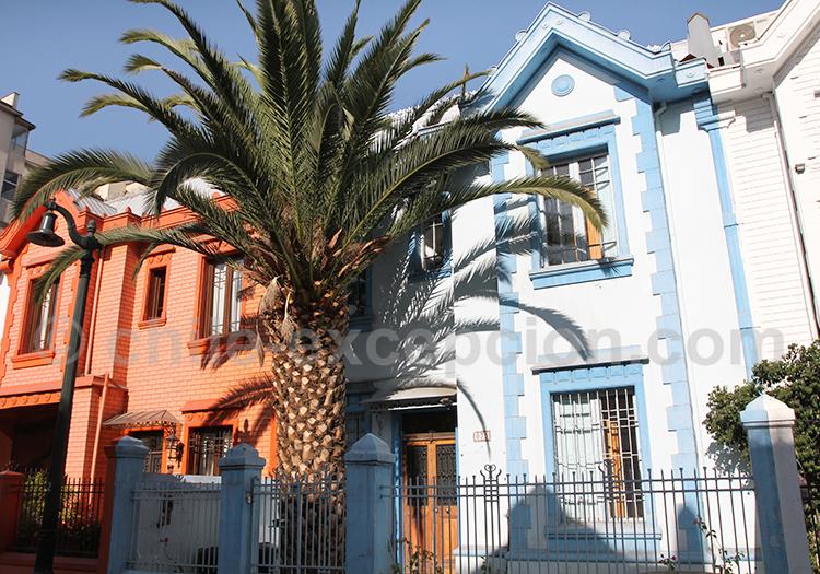 Quartier résidentiel de Providencia, Santiago de Chile