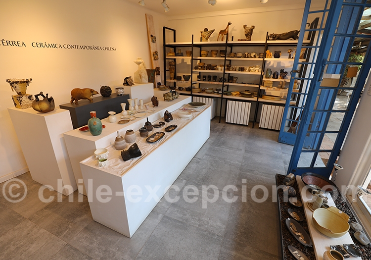 Boutique de céramiques, Pueblito Los Dominicos