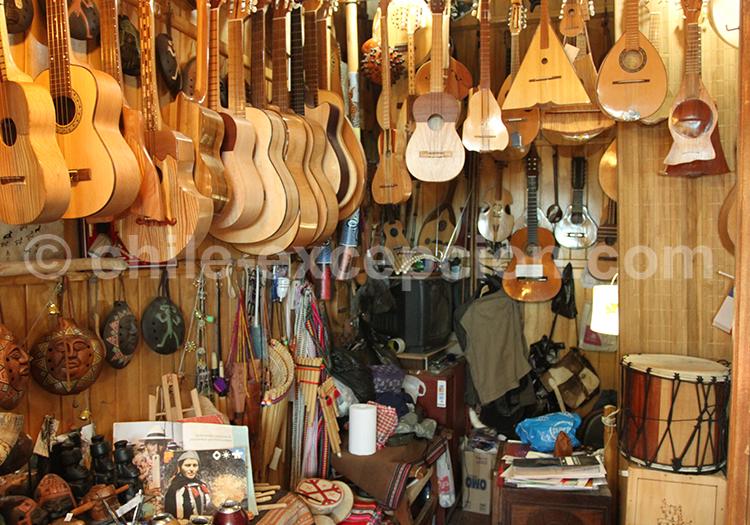 Les instruments de musique au Chili