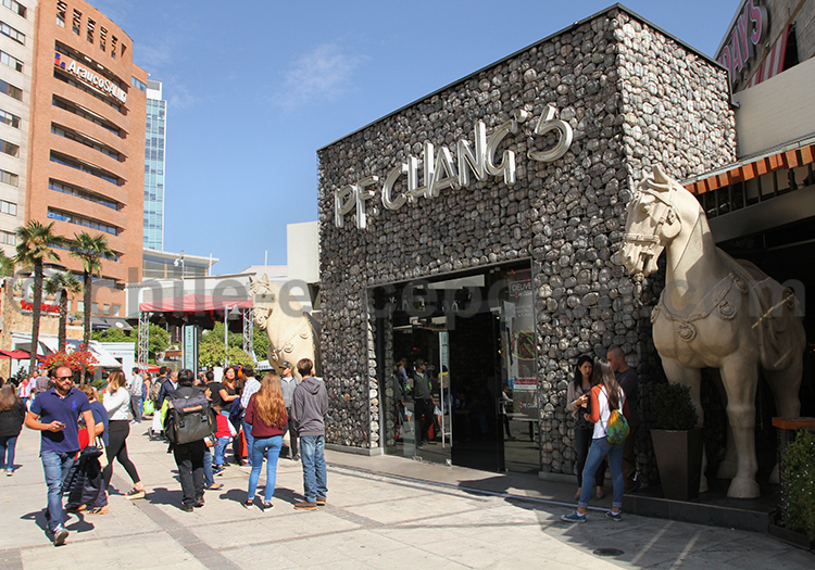 Shopping au Malll Arauco, Santiago de ChileChile