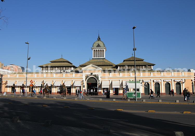 Mercado Central, centre de Santiago de Chile