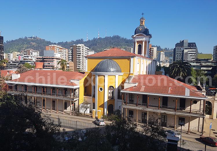 Église de la Divine Providence, Providencia, Santiago